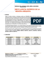 Déficit hídrico en Arequipa