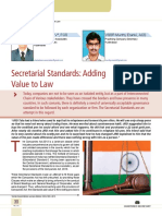 04 Secretarial Standards Adding Value to Law