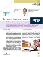 07 Secretarial Standards a New Era
