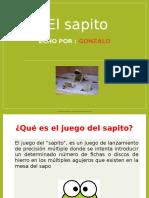 JUEGO TRADICIONAL SAPITO