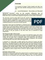Boiler Dearation Methodology