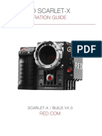 Red Scarlet Manual de Operaciones