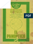 El Panóptico 1791 Bentham Jeremy