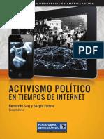 Activismo Politico en Tiempos de Internet