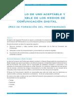 Protocolo de Uso Responsable