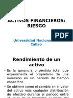Clase 8.1 Riesgo y Rentabilidad de Activos-p