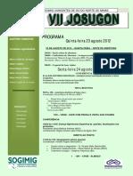 Programa Josugon 2012