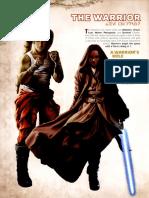 Star Wars RPG - Force and Destiny - Career Folio - Warrior
