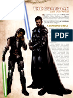 Star Wars RPG - Force and Destiny - Career Folio - Guardian