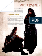 Star Wars RPG - Force and Destiny - Career Folio - Sentinel