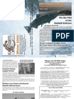 KS Wild Newsletter, Winter 2003 ~ Klamath-Siskiyou Wildlands Center