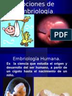 Nociones de Embriología