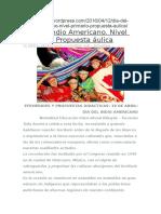 Dia Del Indio Americano