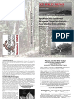 KS Wild Newsletter, Summer 2002 ~ Klamath-Siskiyou Wildlands Center
