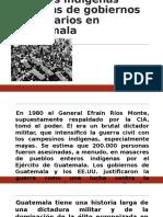 Pueblos Indígenas Víctimas de Gobiernos Autoritarios en Guatemala