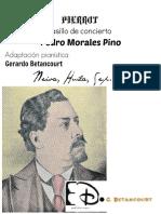 PIERROT. Pedro Morales P. Pasillo de concierto, transc. Gerardo Betancourt.