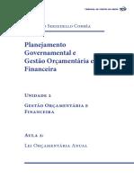 Planejamento Governamental Unidade 2 Aula2