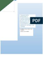 Transporte Marítimo y Puertosdesafíos y Oportunidades en Busca de Un Desarrollo Sostenible en América Latina y El Caribe