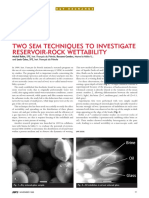 Two Sem Techniques to Investigate Reservoir-rock Wettability, Robin-cambes-culec, 1998