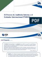 El Proceso de Auditoría Interna y El Estándar Internacional PMBOK_RSMChile2013_Final