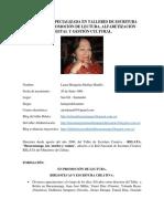 Hoja de Vida Cultural - Laura Margarita Medina