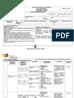 Planificación Anual Emprendimiento 3ero Bachillerato 2016