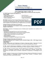cv taras chornyi pdf