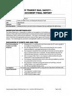 Maceo Lopez Rail Incident Report