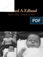 Richard A. Edlund Memorial Slideshow