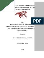 Elaboracion de Tesis Artesania