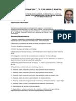 Curriculum Vitae Francisco 2016 Gerencias Tecnicas y Ventas Ultimo Mayo 2016
