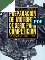 Gillieri Stefano - Preparacion de Motores de Serie Para Competicion