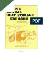 Aggressive Annual Heat Storage