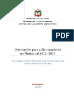 Roteiro Para ElaboraÇÃo Do Ppa 2012-2015