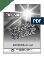 Digging Deep 701 - 800
