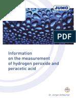 FAS628en_Measurement of Hydrogen Peroxide and Peracetic Acid