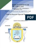 Informe de La Visita Al Proyecto Especial Olmos
