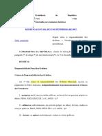 Decreto-Lei 201-67 - Responsabilidade Dos Prefeitos e Vereadores - Crimes e Infrações Administrativas