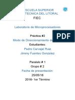 Practica 2 Micropro Pedro Ft Jimmy
