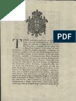 Drecreto Que Institui Junta de Governo D. João VI