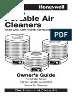 Honeywell63200 Manual