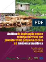 Analise Da Legislacao Para o Manejo Florestal Por