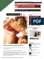4 Regras Fundamentais Da Massagem Sensual - Conversa de Homem
