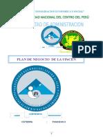 52151761 Plan de Negocios Universidad Peruana Del Centro