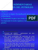 Rocas Sedimentarias Origen Del Petroleo