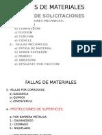 Fallas de Materiales