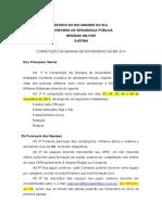 Regulamento Competições de Aniversário Da BM 2014