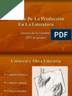 Contexto de La Producción en La Literatura