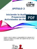 Capitulo 2 Iniciando La Auditoría y Preparación de Las Actividades de Auditoría (1)