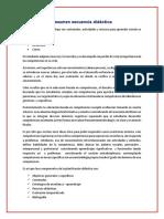 Resumen Secuencia Didactica